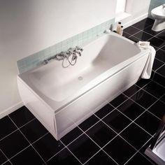 Bathroom Windows Wickes avaris double ended steel bath 80cmx1.8m - bath tub units - baths