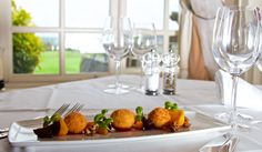 A very tasty dish from Kendal's Restaurant at Mount Juliet. Goats cheese and Beetroot with Micro Basil. Mount Juliet, Casual Dinner, Beetroot, 5 Star Hotels, Tasty Dishes, Afternoon Tea, Wine Recipes, Basil, Goats