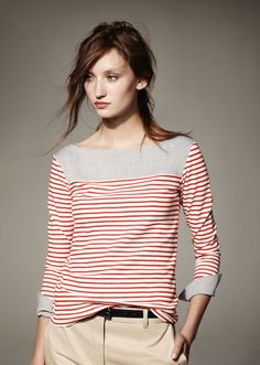 lacoste camisa rayas