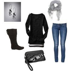 Boot Outfit Ideas Pinterest | Black Boot Outfit Ideas