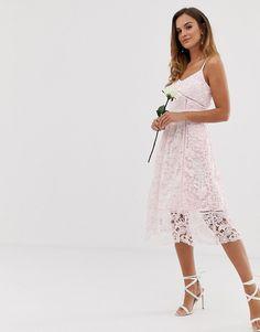 ba3feda93 Ted Baker bridal premium lace midi dress