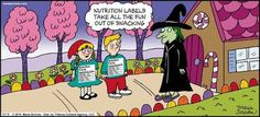 Dying for Chocolate: Cartoon of the Day: Nutrition Labels