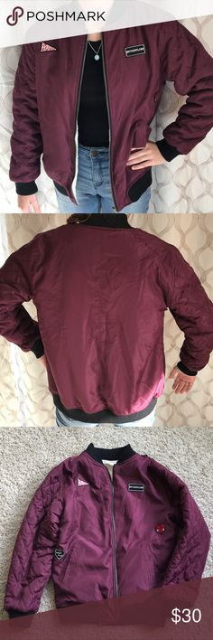89631b26 Maddie Sherpa Lined Bomber Jacket New, never worn Maddie (Maddie Ziegler  from the show