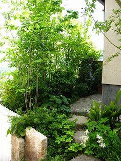 自然風の庭づくり施工例>>広島市安佐南区「O邸」庭リフォーム工事