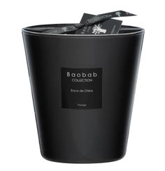 Baobab - Encre de Chine Max 16 Candle.  Chic and sleek, the Encre de Chine Max 16 Candle is a must-have piece for your home. Doing double duty, the candle will fill your space with a delicious aroma as well as looking effortlessly stylish.