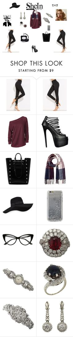 """""""Go A Little Retro"""" by browncoat4ever ❤ liked on Polyvore featuring Mulberry, Lipsy, San Diego Hat Co., Agent 18 and Victoria's Secret"""