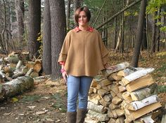 Ravelry: Weekend Swoncho pattern by Kathleen England and Barbara Condon