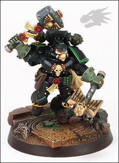 Warhammer 40k Salamanders, Salamanders Space Marines, Warhammer Art, Warhammer Models, Warhammer 40k Miniatures, Warhammer Fantasy, War Hammer, Fantasy Miniatures, Jumping Jacks