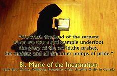 Blessed Marie de L'Incarnation