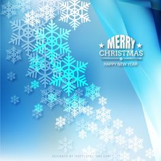 Merry Christmas Snowflakes Blue Background Template Free Christmas Backgrounds, Winter Backgrounds, Free Vector Backgrounds, Christmas Background Vector, Free Vector Art, Blue Backgrounds, Blue Background Wallpapers, Light Blue Background, Christmas Facebook Cover