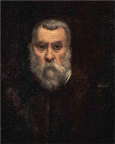 Tintoretto - 1588 - Self-portrait