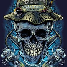This was a really fun illustration I worked on for recently of a grinning skull fisherman. Take A Break was one of my very first customers over six years ago, and I'm so greatful for clients that have stuck with me from the beginning. Fish Artwork, Skull Artwork, Bass Fishing Pictures, Dark Souls Art, Fish Logo, Fish Drawings, Skull Wallpaper, Fun Illustration, Air Brush Painting