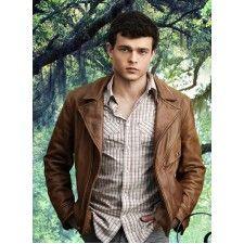Beautiful Creatures Alden Ehrenreich (Ethan Wate) Movie Leather Jacket