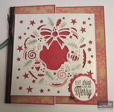 Crafters Companion Create a Card Christmas Die - Christmas Wreath