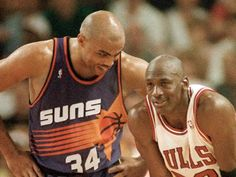 charles barkley and michael jordan...friends can compete