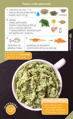 Healthy Recipes, Healthy Food, Pesto, Healthy Life, Cooking, Ethnic Recipes, Diet, Recipes, Healthy Foods