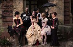 gothic wedding castle venus