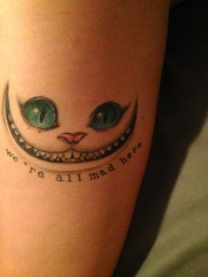 My Cheshire Cat done by Nikki at FY Ink in Toronto