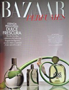 Publicación para revista Harper's Bazaar México