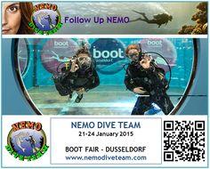 Nemo Dive Team - Boat Show Visit in Düsseldorf