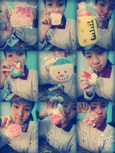 寶貝的生日糖霜餅乾(^O^)