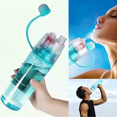 Sports Water Bottle Spray