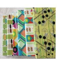 South African textile covered notebooks