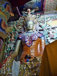 Beautiful Shakyamuni Buddha (present Buddha), aka Siddartha Gautama after enlightenment