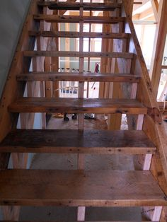 On becoming (new) 100+ year old stairs