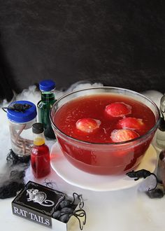 poison apple halloween punch living litehouse blog - Punch Recipes For Halloween