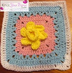 Knot Your Nana's Crochet: Granny Square Crochet Along Revisited (Week Fifteen)43