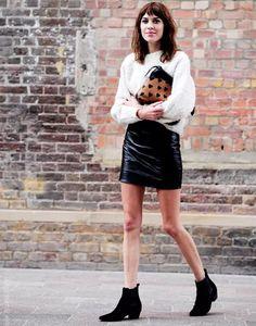 Alexa Chung de chelsea boots