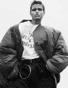 Luna Bijl by David Sims for Vogue Paris October 2016