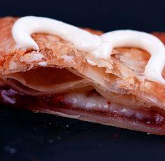 Homemade Strawberry-Cream Cheese Toaster Strudel