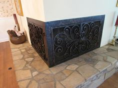 L Shaped Doors   Custom Fireplace Doors in California & Arizona ...