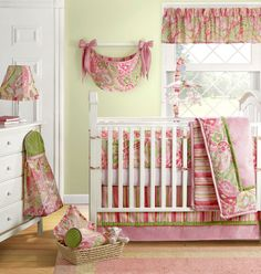 Chloe Baby Girl Crib Collection | Sweet Peaches Bedding