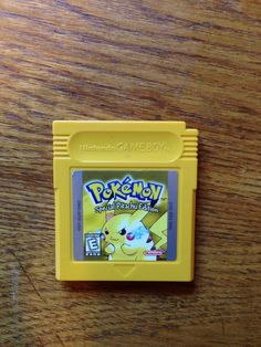 POKEMON YELLOW SPECIAL PIKACHU EDITION NINTENDO GAME BOY COLOR CARTRIDGE