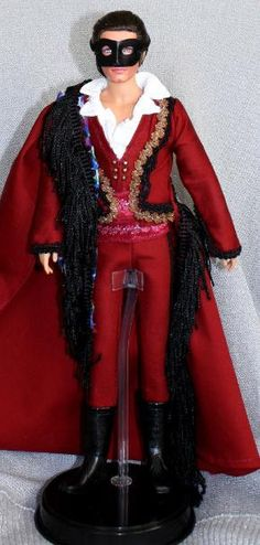 Phantom of the opera red death masquerade doll...this needs to be added to my collection lol