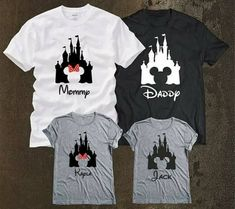 Disney Family Vacations are simply one of the best family trips in my opinion. and they are only better with some Disney Family Shirts. Let's check out some amazing matching disney shirts for your next vacay! Disney Vacation Shirts, Disney Vacation Planning, Disney Shirts For Family, Family Shirts, Disney Vacations, Vacation Ideas, Disneyland Trip, Disney Trips, Disney Cruise