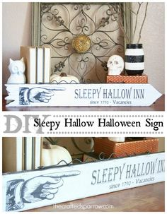 DIY Sleepy Hallow Ha