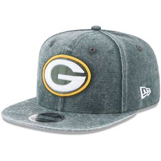Green Bay Packers New Era Rugged Canvas Snap 2 9FIFTY Snapback Adjustable  Hat - Green 023038105b6a