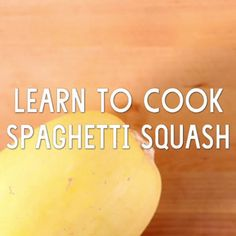 Learn How to Cook Spaghetti Squash // Spaghetti squash makes an excellent side dish or a fun substitute in thin noodle recipes, from Asian to Italian. It is loaded with nutrients, such as beta carotene and fiber, and is tender, with just a slight crunch.