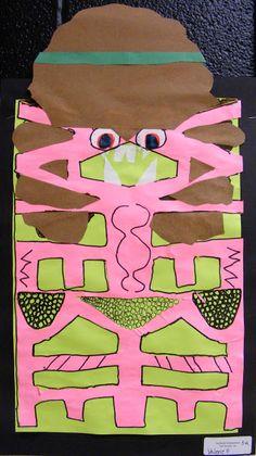 Field Elementary Art Blog!: 5th Grade Name Monsters