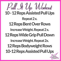 Pull Up Workout! Want to learn how to do a pull up? LEARN HERE WITH AN EASY HOW TO!!