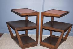 Edward Wormley Drexel End Tables 5