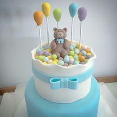 Cake topper orsetto #instafood #ilas #ilasSweetness #caketopper #battesimo http://ilas.webnode.it/ https://www.facebook.com/ilascake