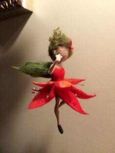 Hadas de fieltro de aguja Waldorf inspirado Ángel de por DreamsLab3