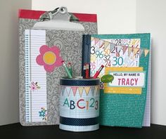 Bella Blvd:  Back to School kit by Wendy Antenucci