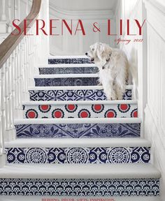 What A Great Way To Incorporate Art Into Your Home Perfectly Painted Stairs For My Dream Beach House Crafty Life Sa Stella In Nantucket