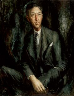 Sir Hudson Fysh KBE DFC, 1950  -  by William Dobell   Gift of the Australian War Memorial to the National Portrait Gallery in association with the Fysh family 2008
